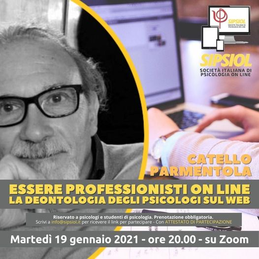 ESSERE PROFESSIONISTI ON LINE